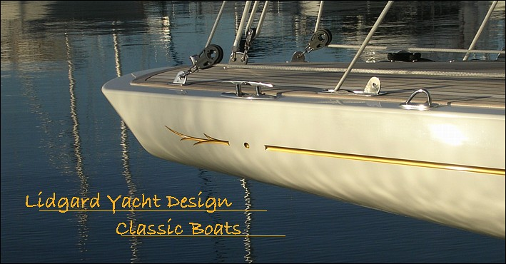 classic boats sailing yachts and powerboatsby lidgard yacht design