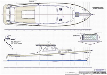 Speed Boat Blueprint Stock monohull and multihull boat plans by ...
