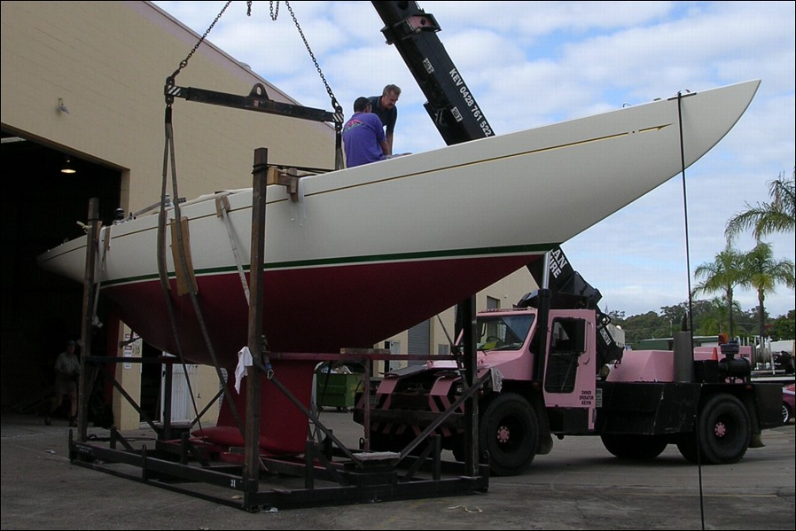 Jose and Jane De la Vega christen their new yacht.