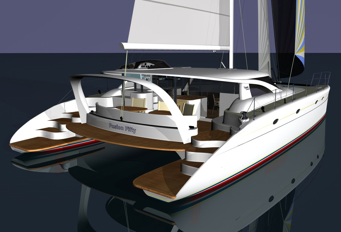 Wooden Catamaran Plans together with Catamaran Building Plans ...