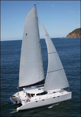 lidgard yacht design 40 ft multihull sailing catamaran