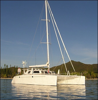 45 ft sailing catamaran design
