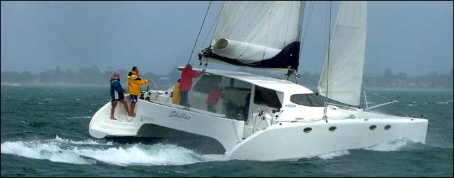 4o ft Emultihulls sailing multihull by lidgard yacht design