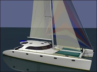 build a cruising catamaran