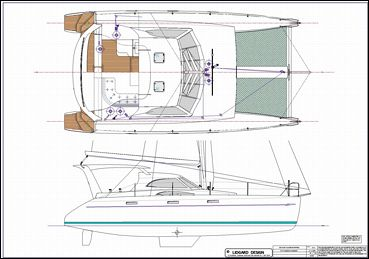Diy cardboard boat, free multihull sailboat plans